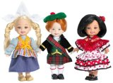 Barbie Collector Pink Label - Dolls of the World - Kelly and Friends Gift Set - Holland, Spain & Scotland