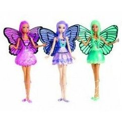 Barbie Mariposa Mini Dolls Gift Pack with Willa, Rayna, and Rayla Doll Set