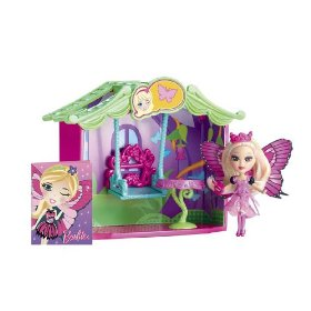 Barbie Peekaboo Petites Storytime The Mariposa Room Doll