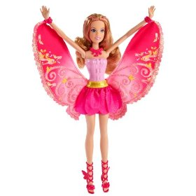 Barbie A Fairy Secret Fairy and Pony - Pink